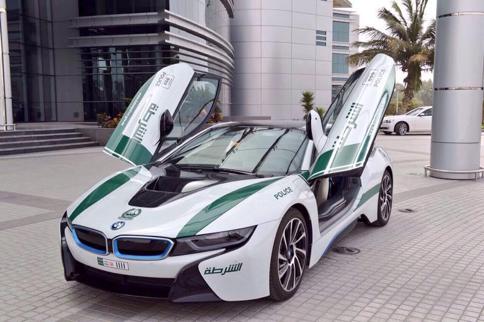 Dubai police force cars