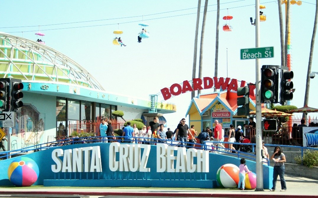 Things to do in Santa Cruz: Santa Cruz Beach Boardwalk and Amusement Park