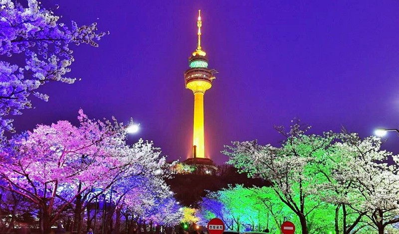 Namsan Tower or Seoul Tower