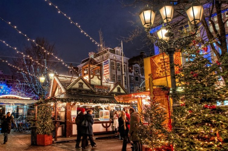 Amsterdam events: christmas market