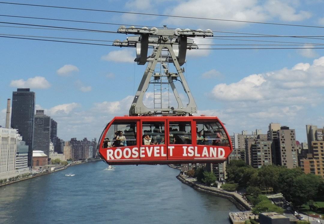 New York city sightseeing - aerial tramway