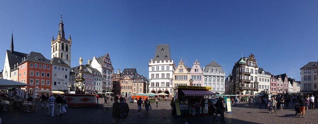 Hauptmarkt in Trier, Germany