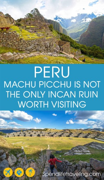 5 Must See Ruins in the Sacred Valley of Peru. Yes, Machu Picchu is incredible and a must-visit. But did you know this area offers several other impressive Incan ruins? #MachuPicchu #incanruins #Peru #LatimAmerica