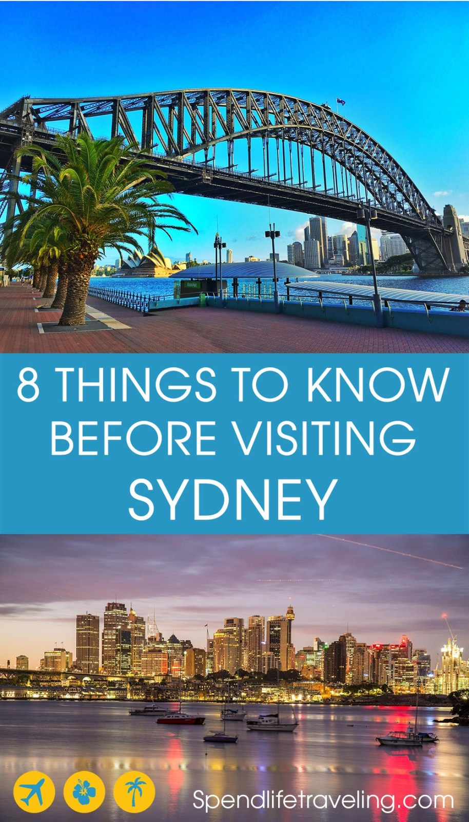 8 Things You should know before traveling to #Sydney, Australia #cityguide #citybreak
