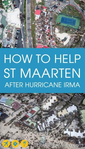 How you can help St Maarten after hurricane Irma