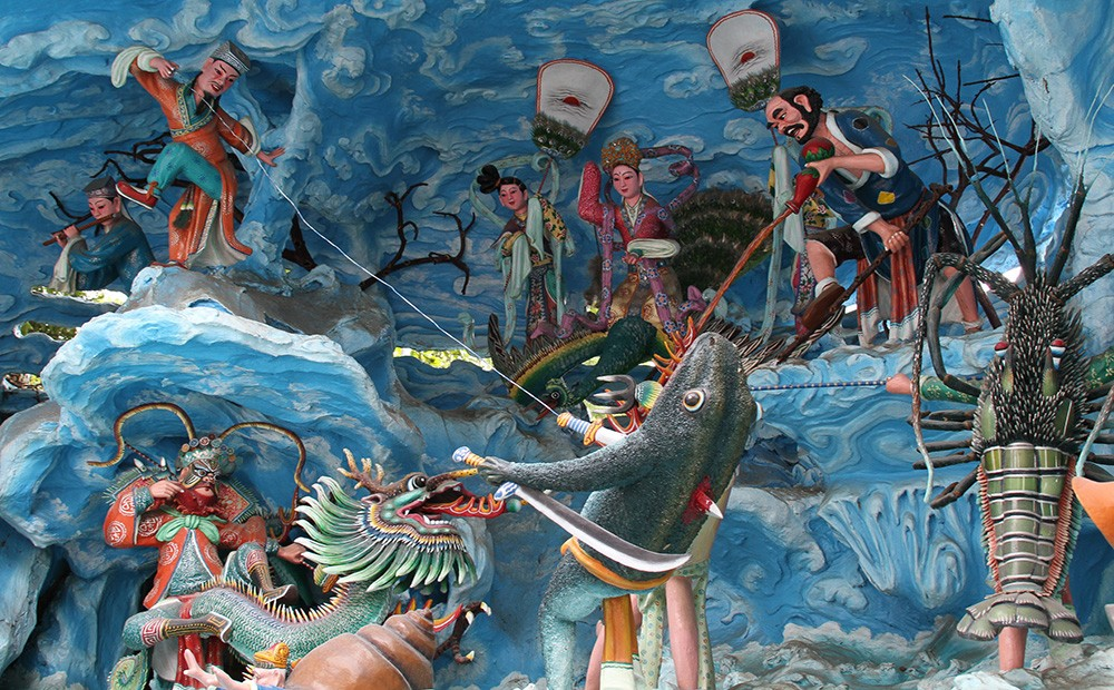 Things to see in Singapore: Haw Par Villa Park