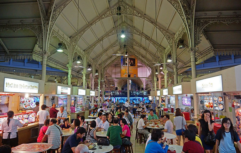 Things to do in Singapore: Lau Pa Sat Market