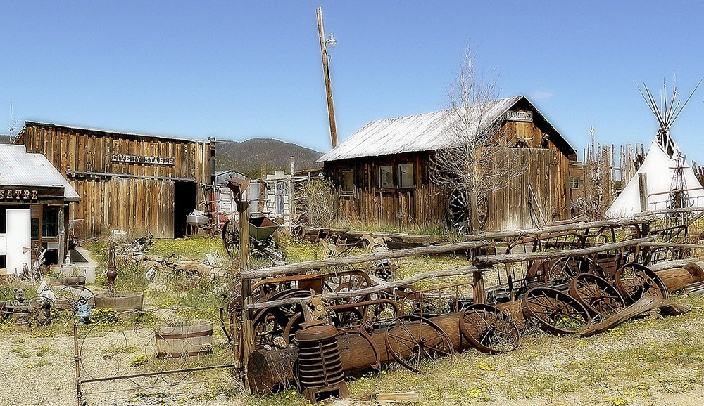 where to experience the Old West - New Mexico