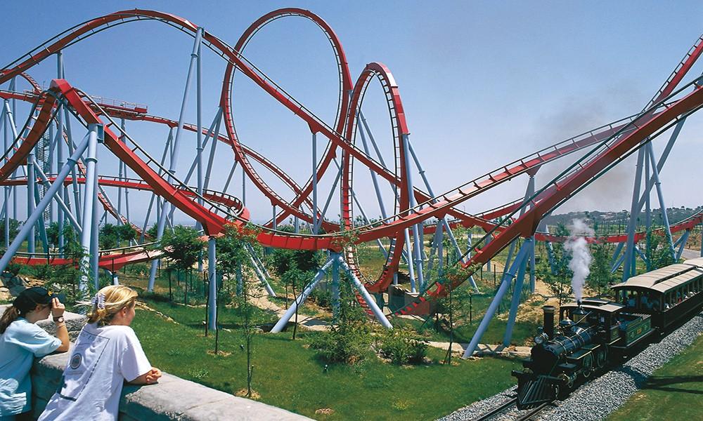 The best family vacation on the Costa Dorada, Spain - theme parks