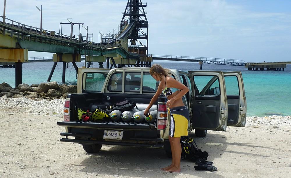 Salt Pier: one of the best dive sites in Bonaire