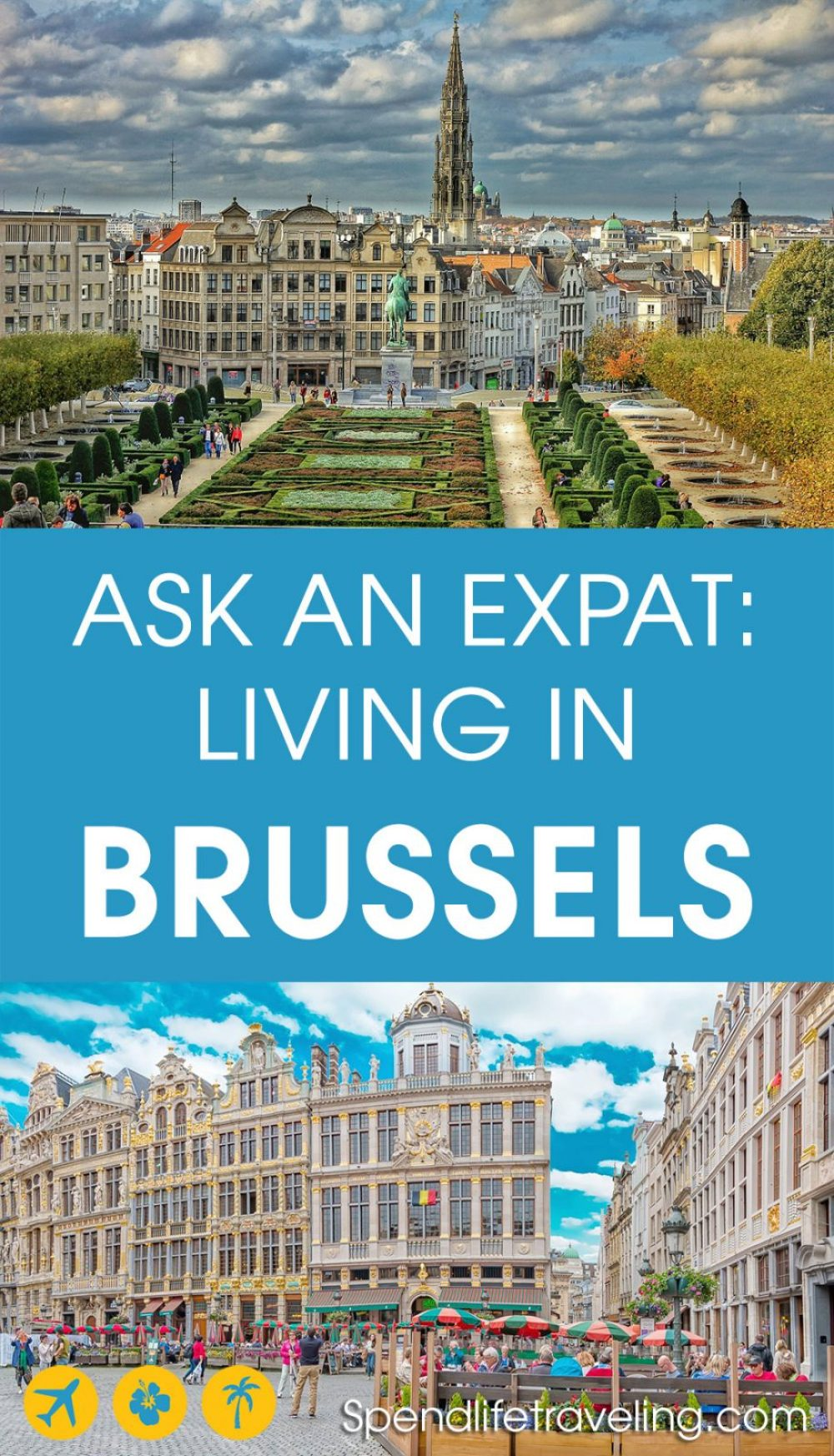 Interview with an expat about moving to and living in Brussels. Are you thinking about moving to Brussels or planning a longer stay there? Then check out this inspiring interview. #brussels #expatlife #lifeabroad #moveabroad #belgium