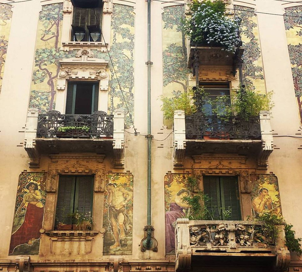 What not to miss in Milan: Casa di Galimberti