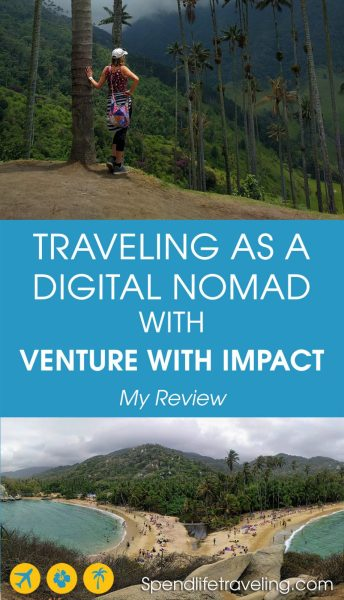 I spent a month in Colombia with Venture With Impact who offers month long programs for digital nomads, remote workers and anyone interested in living and volunteering abroad. This is my review of that experience. #digitalnomad #remoteworking #volunteerabroad #digitalnomadtravel