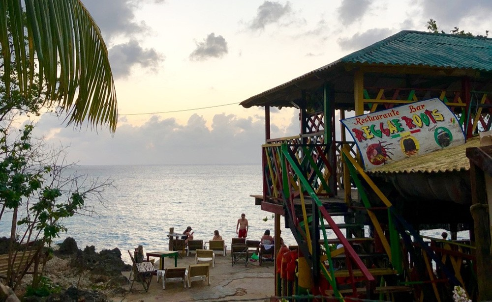 Where to watch the sunset on San Andres Island