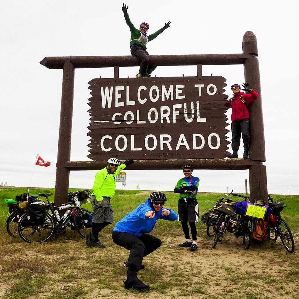 Biking across the USA & meeting travel buddies along the way
