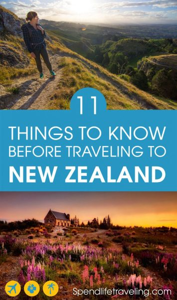 If you love stunning scenery and friendly people you have to visit New Zealand. But before you travel here check out this list of things to know about New Zealand! #NewZealand #travel #outdooradventures #traveltips