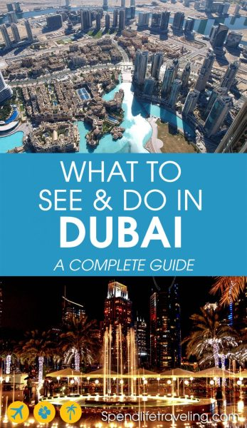#Dubai is a unique destination. This complete travel guide shares what to see and do in this Emirate plus 3 of the best day trips from Dubai. Insider tips from an expat in Dubai. #travelguide #traveltips #UAE #visitDubai