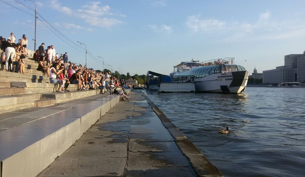 3 days in Moscow: what not to miss: Gorky Park
