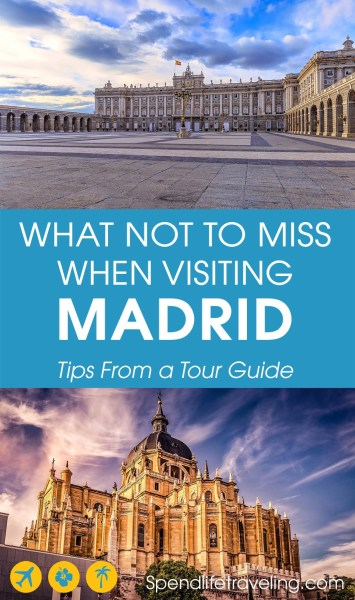 Tips from a local tour guide on what to see and do in #Madrid: whether you are planning a two day trip to Madrid or a longer stay. #citybreak #travelSpain #cityguide #traveltips #traveler