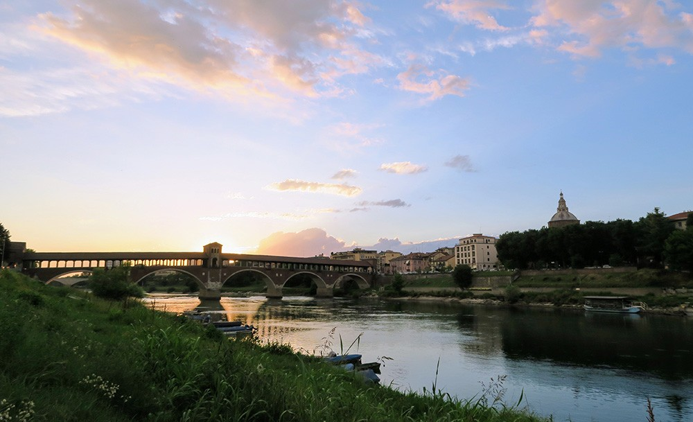 What to see in Pavia: Ponte Coperto
