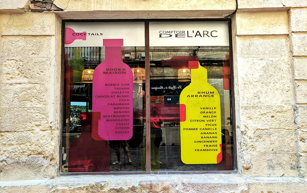 Places to visit on a short trip to Montpellier: Comptoir de l'Arc for the best happy hour