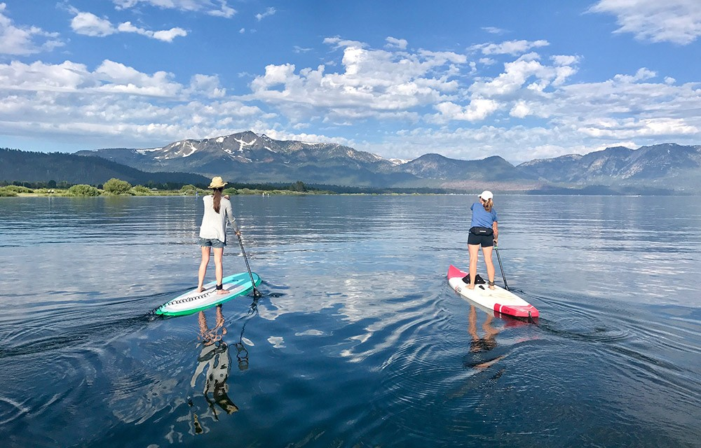 Things to do in South Lake Tahoe: paddle boarding & other water sports