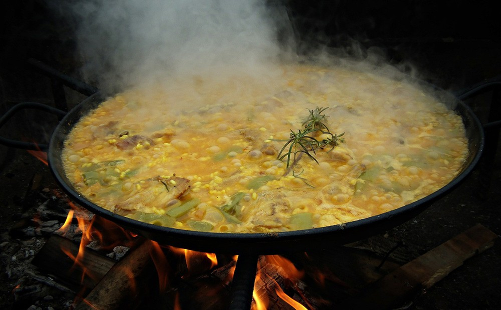 What is paella