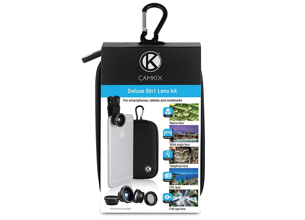 cool digital nomad gift idea: camera lens kit