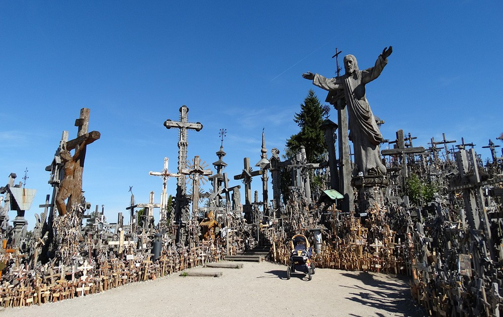 Places to see when visiting Lithuania for the first time: Hill of Crosses