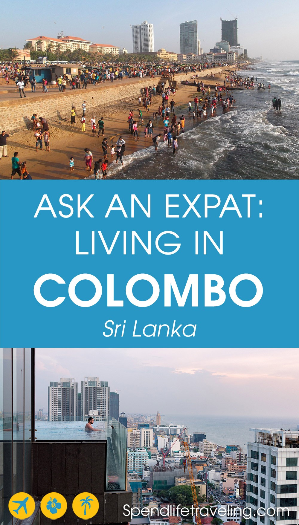 Interview about moving to and living in #Colombo, Sri Lanka's capital as an #expat. #expatlife #moveabroad #liveabroad #lifeinSriLanka