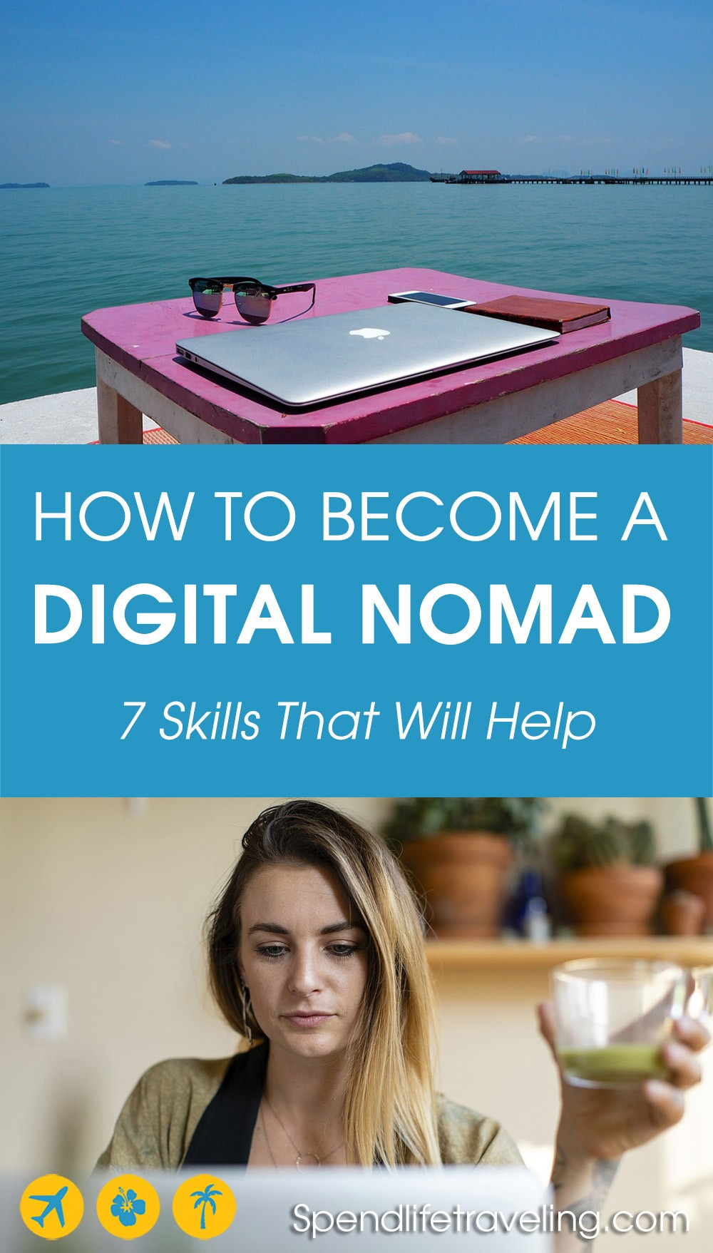 Are you interested in becoming a digital nomad? Check out these honest and practical tips to help you create a location independent lifestyle. #digitalnomad #workremotely #locationindependent