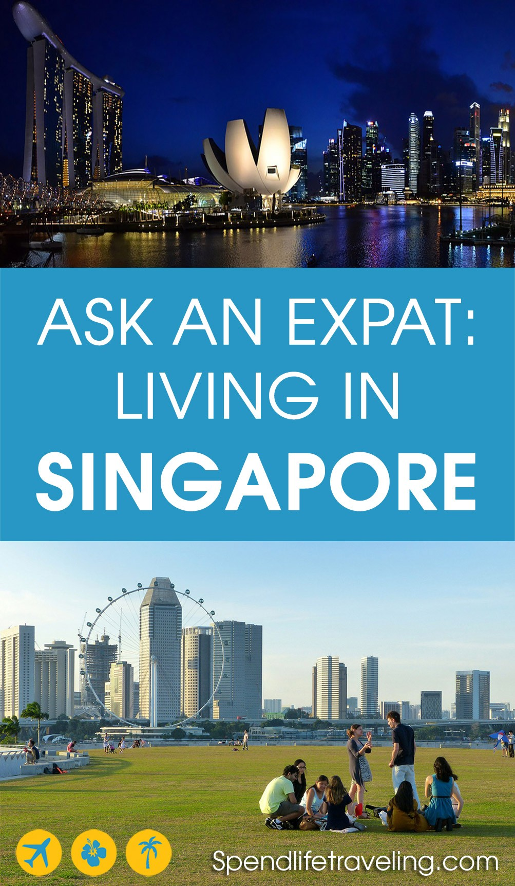 Expat life in #Singapore: interview with an expat about what it's like to move to and live in Singapore. #expatlife #expatSingapore
