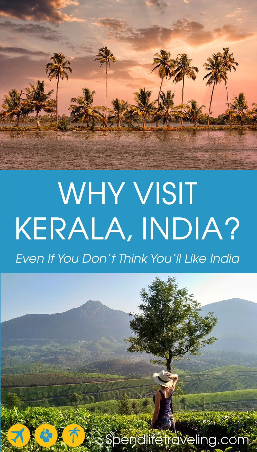 Why should you visit #Kerala? Because Kerala is beautiful and very different from the rest of #India... #visitKerala #travelKerala