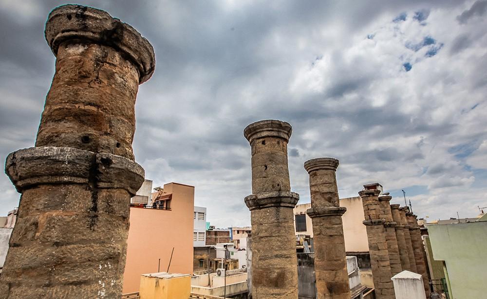 Places to visit in Madurai: Ten Pillar Lane