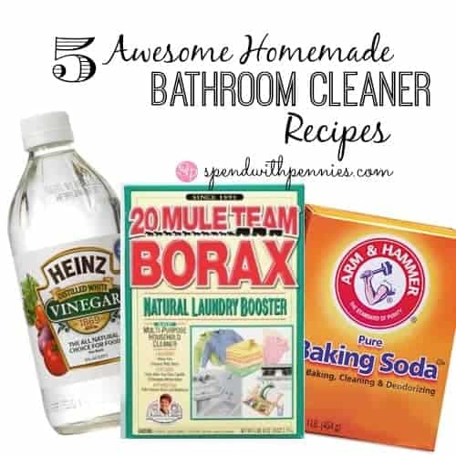 5 awesome homemade bathroom cleaner