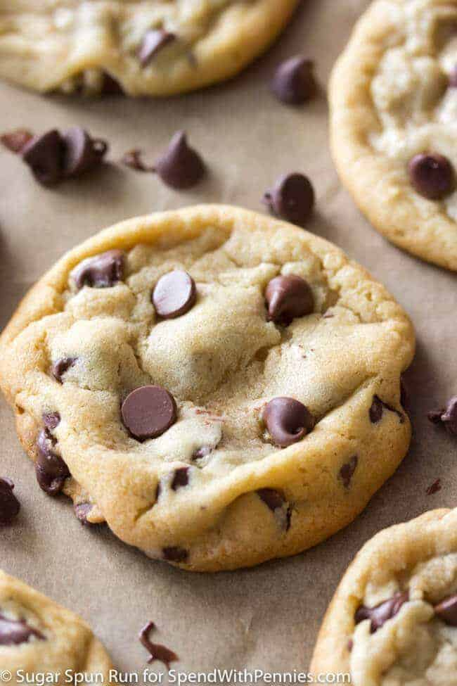 Perfect Chocolate Chip Cookies Spend With Pennies
