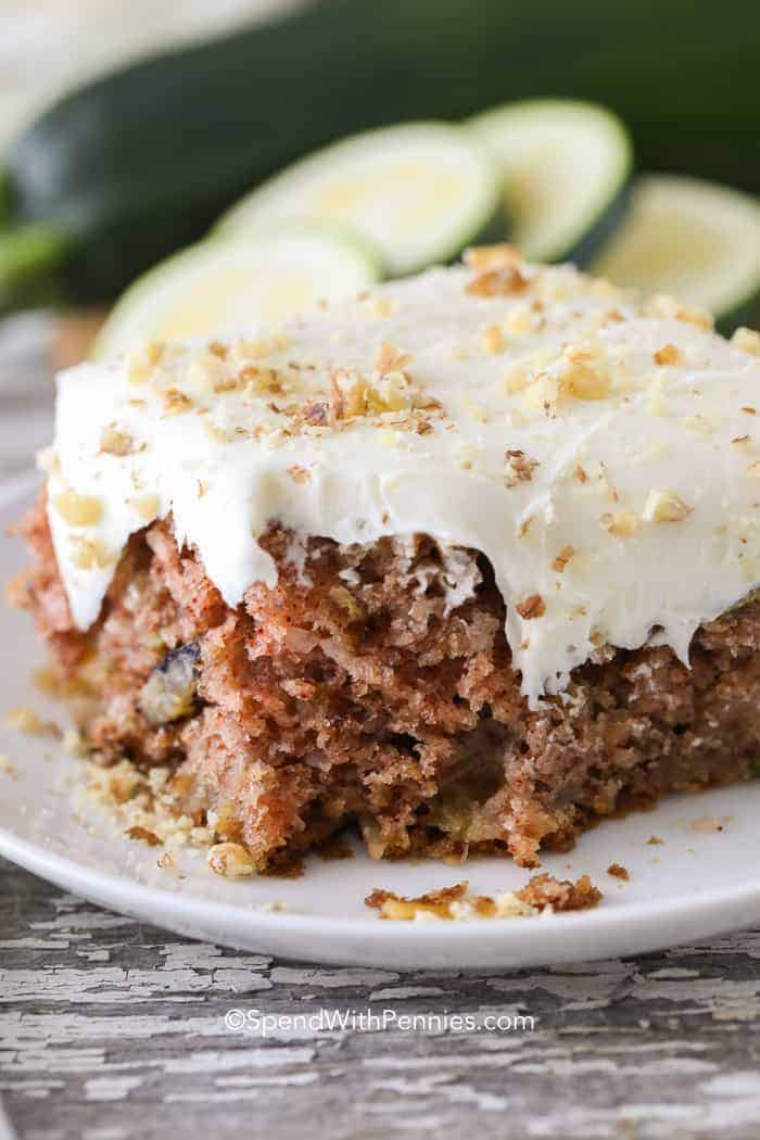 Zucchini Cake Spend With Pennies