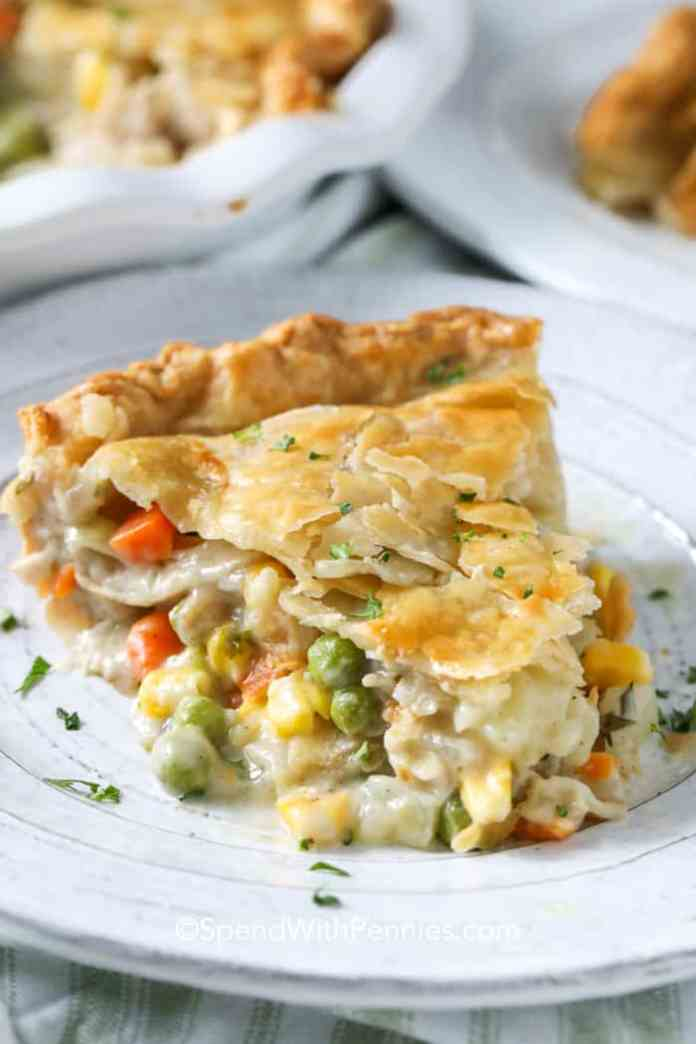 Turkey Pot Pie Great For Leftover Turkey Spend With Pennies