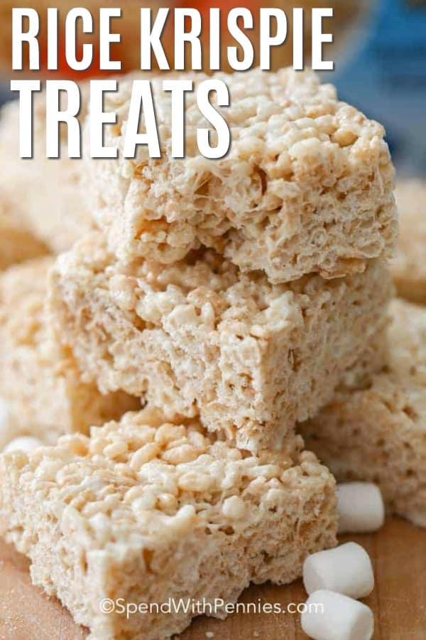 extra chewy rice krispie treats simply