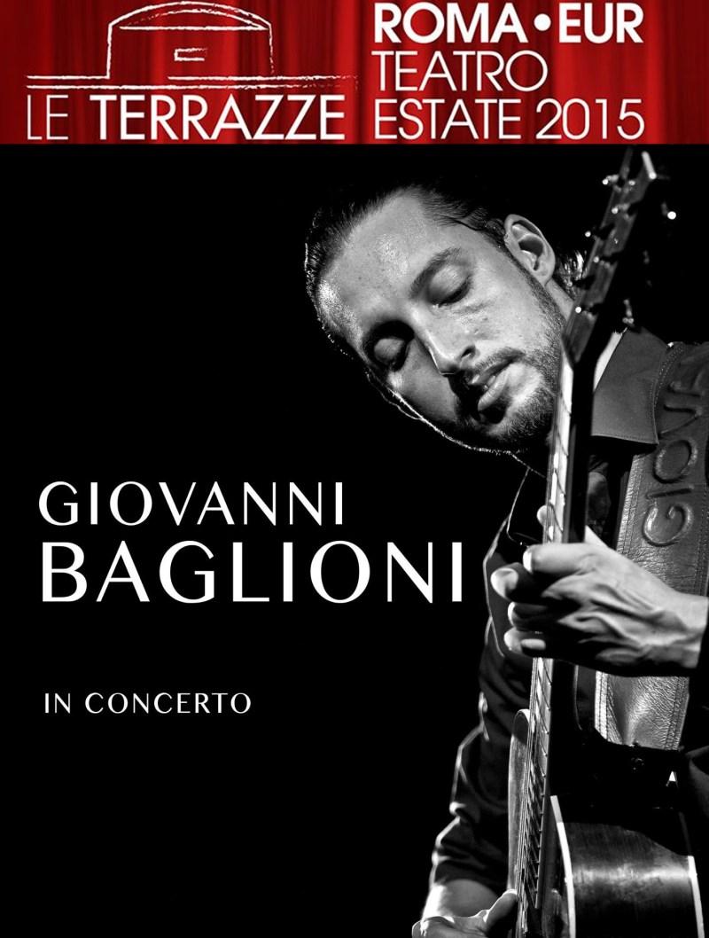 Giovanni Baglioni in concerto al Teatro Le Terrazze - EUR