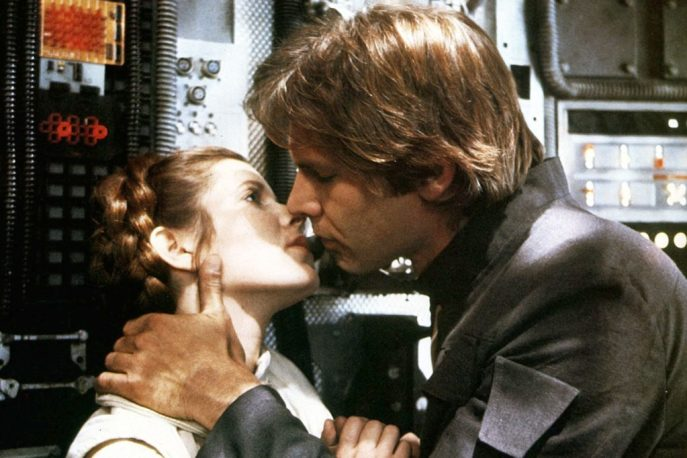 Carrie Fisher e Arrison Ford