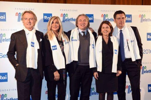 Roma  presentazione  del Telethon 2016