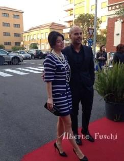Marco D'Amore e Alessandra Mastronardi