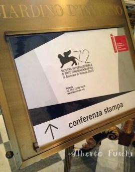 Mostra del Cinema di Venezia, Conferenza