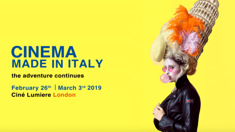 Cinema Made in Italy London: la IX edizione del festival del cinema italiano a Londra