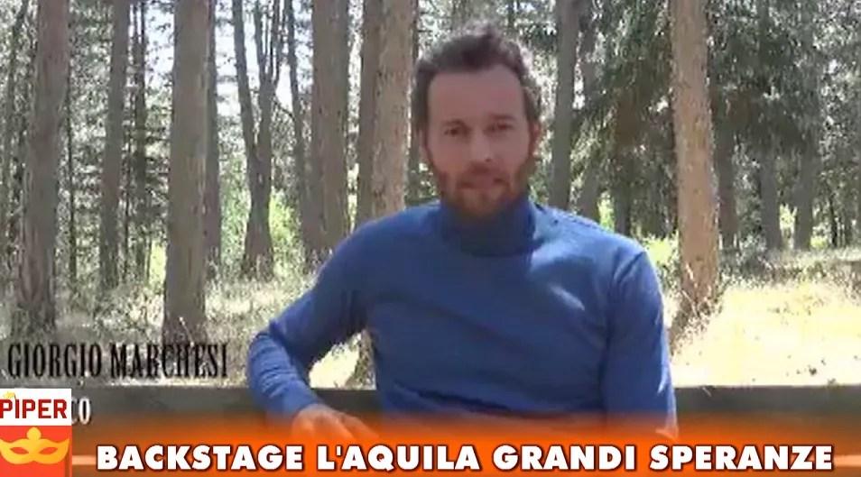 Backstage L'Aquila Grandi Speranze