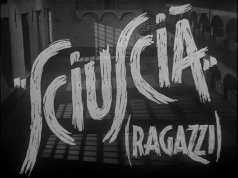 """Festa del 25 aprile: """"Sciuscià"""" il primo film italiano dopo"""