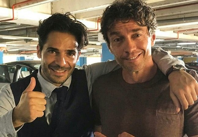 Calibro 9 Marco Bocci e Alessio Boni sul set del nuovo film a Catanzaro, le prime foto dalle riprese