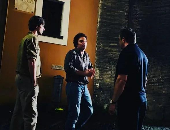 I migliori anni il film, Muccino sul set con Claudio Santamaria, le prime foto dalle riprese