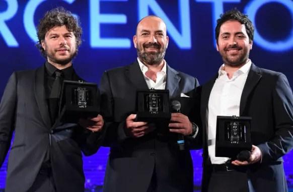nastri d argento 2019 premiazione foto matteo rovere sydney sibilia andrea parisi